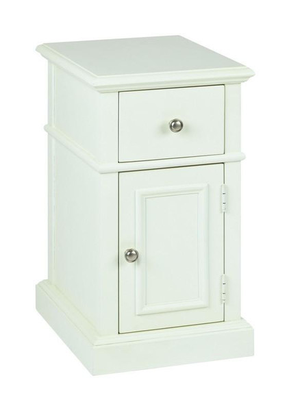 Office Star Osp Designs Oxford Cream Side Table OXF08AS-CM