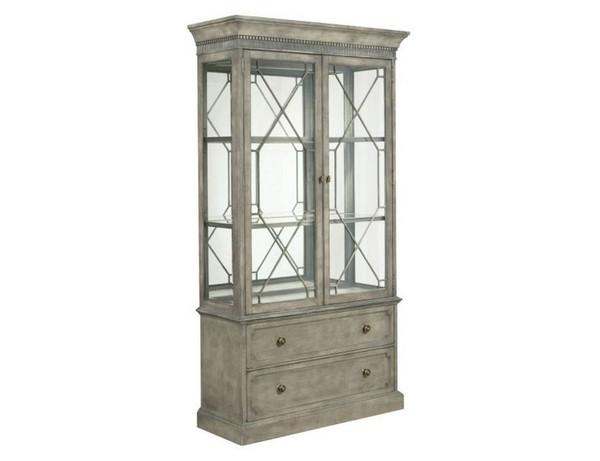 American Drew Savona Larsson Display Cabinet Complete 654-830R