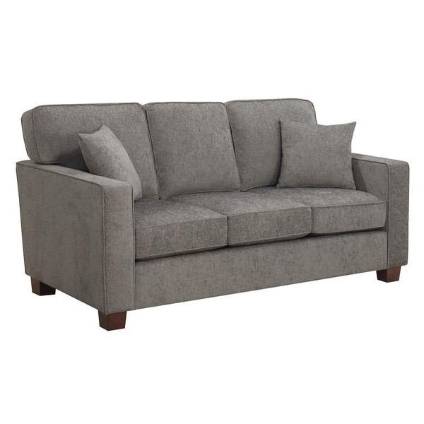 Office Star Russell 3 Seater Sofa In Taupe Fabric 3/Ctn RSL53-SK335