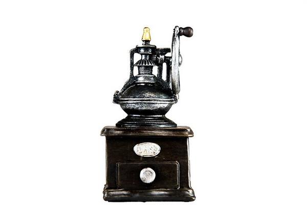 W8000-233 Oh! Trendy Vintage Espresso Steamer Piggy Bank - Small