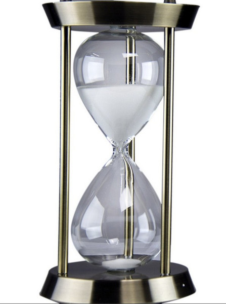 W8000-500 Oh! Trendy White Sand Hourglass - Small