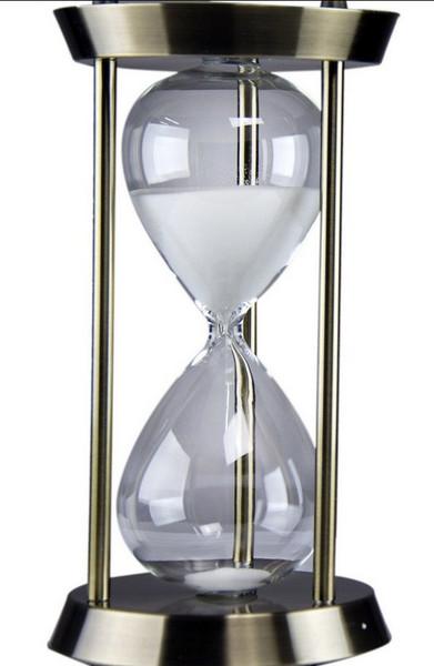 W8000-501 Oh! Trendy White Sand Hourglass - Medium