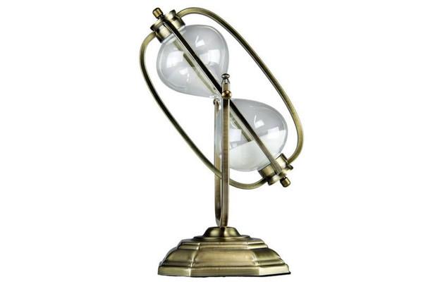 W8000-574 Oh! Trendy White Sand Cosmic Hourglass - Art Deco