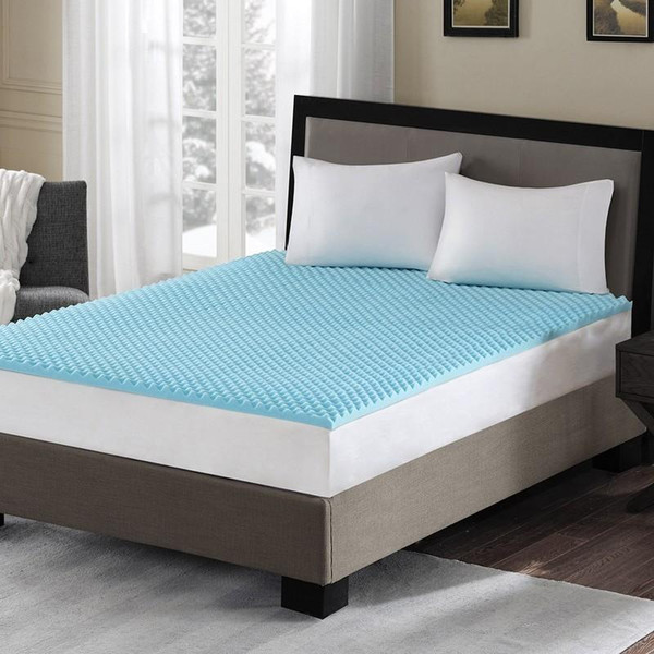 """Hypoallergenic 1.5"""" Cooling Mattress Topper -Queen BASI16-0383 By Olliix"""