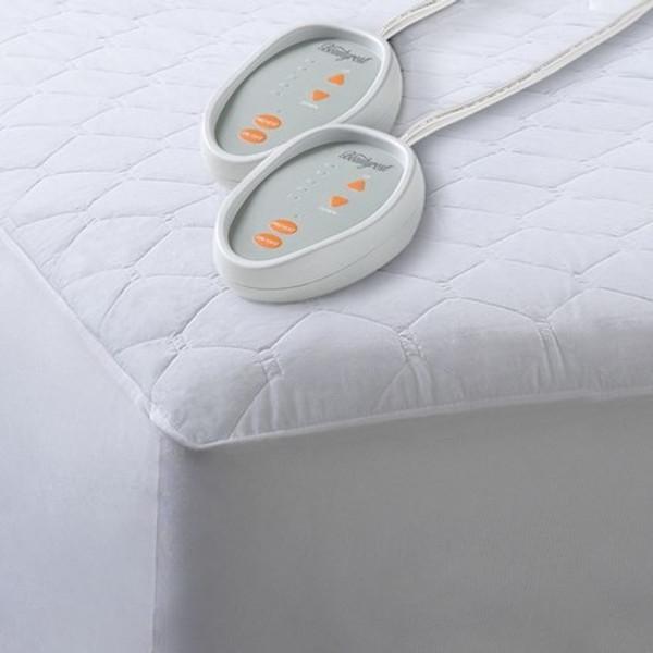 Beautyrest Cotton Blend Heated Mattress Pad -Full BR55-0199 By Olliix