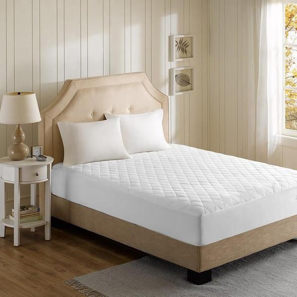 Beautyrest Cotton Blend Heated Mattress Pad -Twin Xl BR55-0671 By Olliix