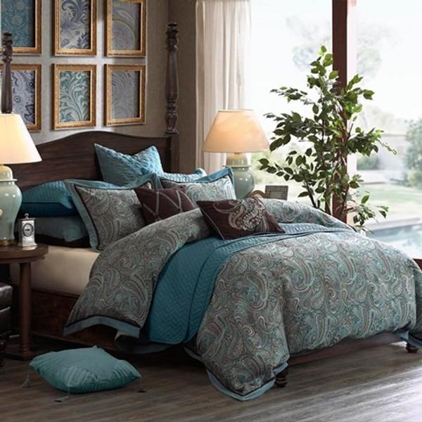 Hampton Hill Lauren Comforter Set -Queen FB10-991 By Olliix