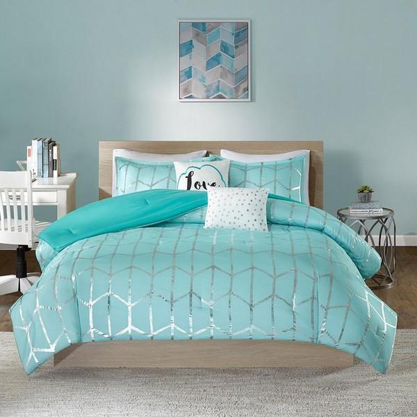 Intelligent Design Raina Comforter Set -Full/Queen ID10-1241 By Olliix