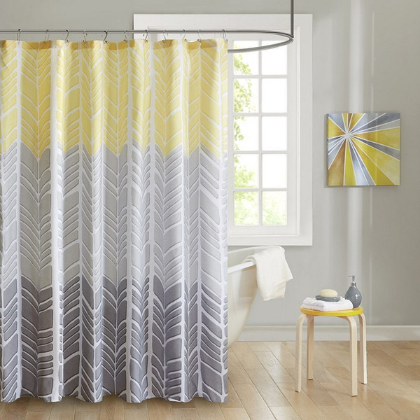 "100% Microfiber Printed Shower Curtain -72X72"" ID70-790 By Olliix"
