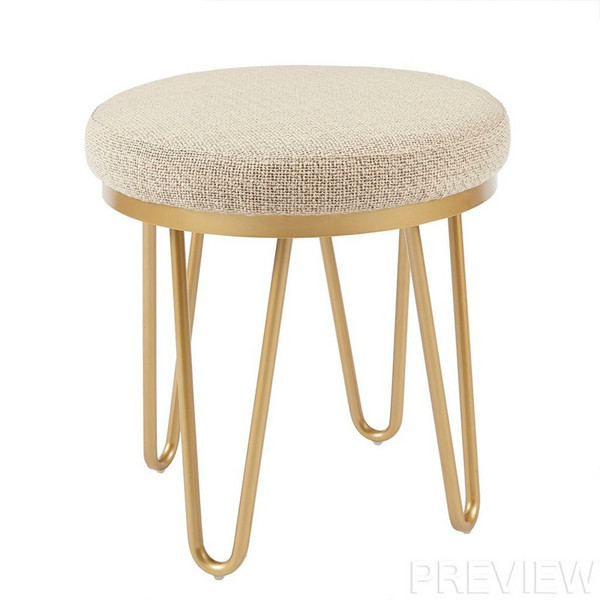 Ink Ivy Beverly Round Stool II101-0288 By Olliix
