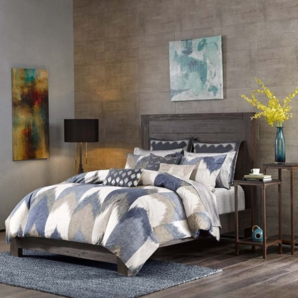 Ink Ivy Alpine 3 Piece Duvet Cover Mini Set -King/Cal King II12-555 By Olliix