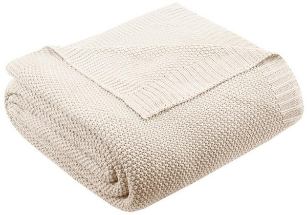 Ink Ivy Bree Knit Knit Blanket -Full/Queen II51-725 By Olliix