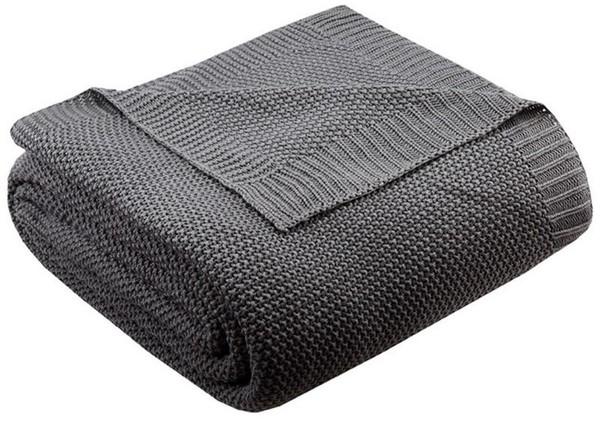 Ink Ivy Bree Knit Knit Blanket -King II51-729 By Olliix