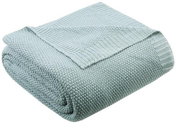 Ink Ivy Bree Knit Knit Blanket -Twin II51-730 By Olliix