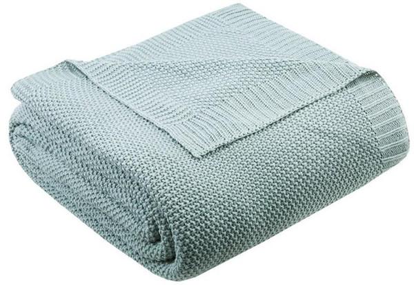 Ink Ivy Bree Knit Knit Blanket -Full/Queen II51-731 By Olliix