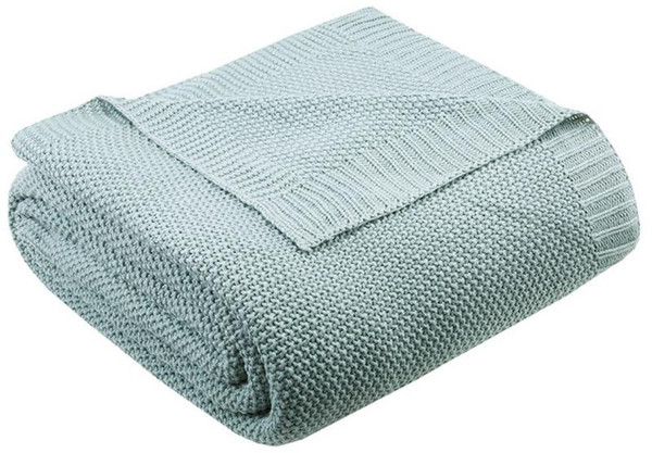 Ink Ivy Bree Knit Knit Blanket -King II51-732 By Olliix
