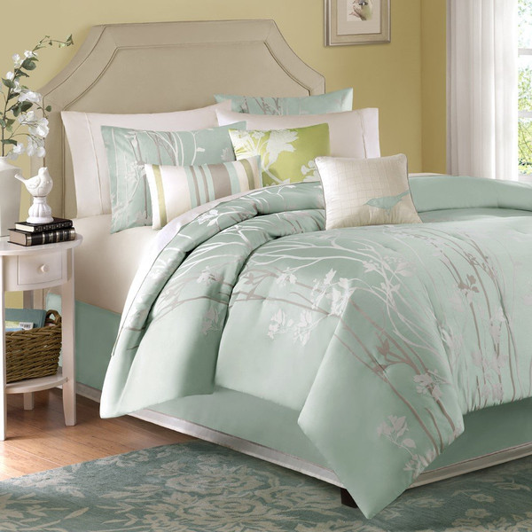 Madison Park Athena 7 Piece Comforter Set -King MP10-002 By Olliix