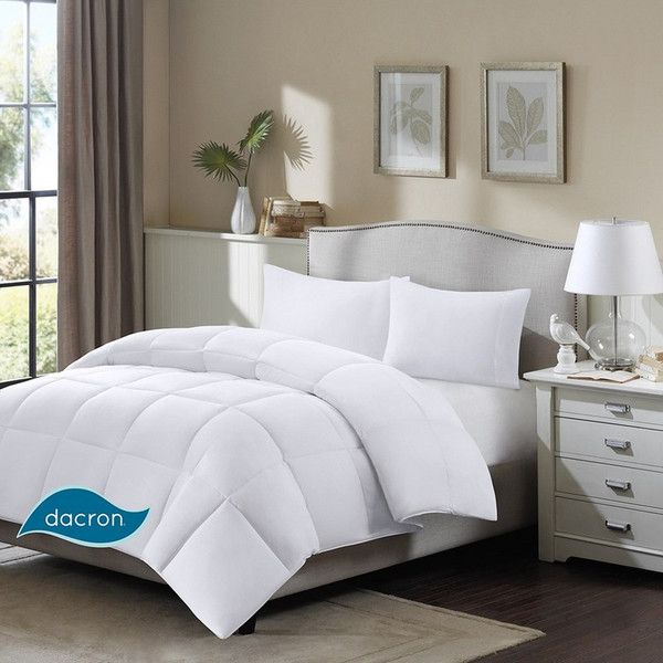 3M Scotchgard Cotton Twill Supreme Down Blend Comforter -Full/Queen MP10-1250 By Olliix