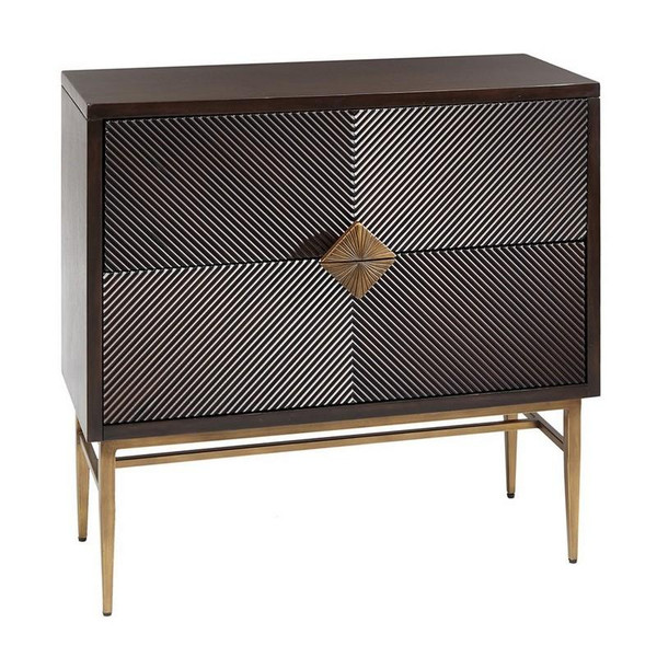 Madison Park Isabel 2 Drawer Chest MP130-0230 By Olliix