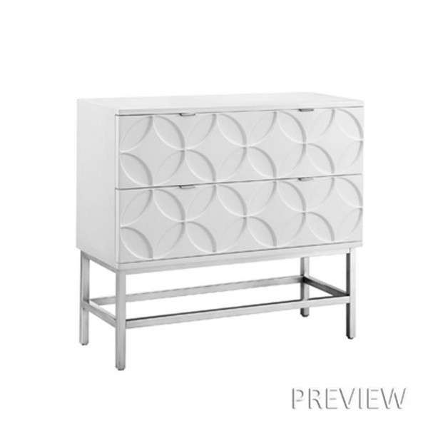 Madison Park Sonata Accent Chest With 2 Drawers MP130-0528 By Olliix