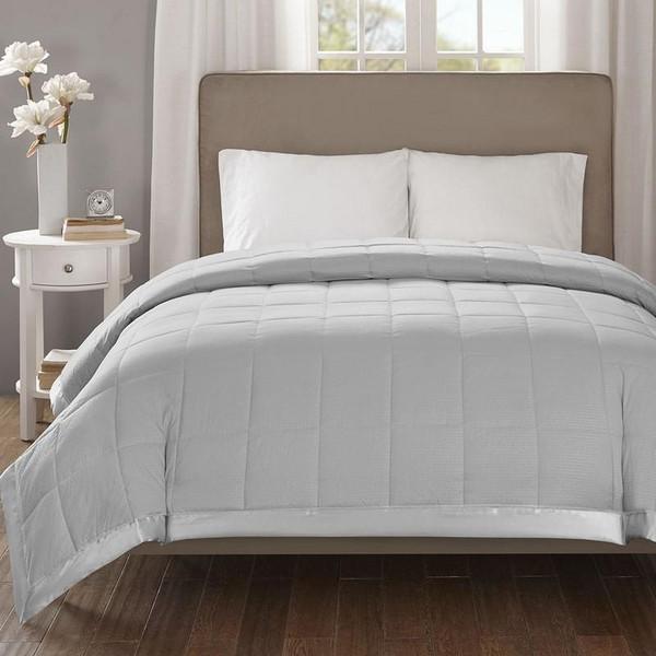 Hypoallergenic Down Alternative Blanket W/ 3M Scotchgard -King MP51-2606 By Olliix
