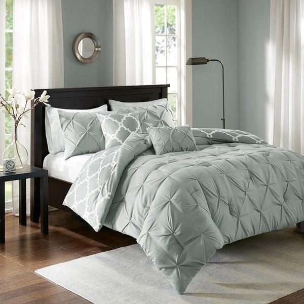 5 Piece Reversible Comforter Set -Full/Queen MPE10-348 By Olliix