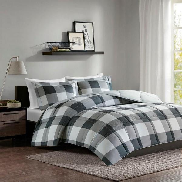 3M Scotchgard Down Alternative Comforter Mini Set -King/Cal King MPE10-560 By Olliix