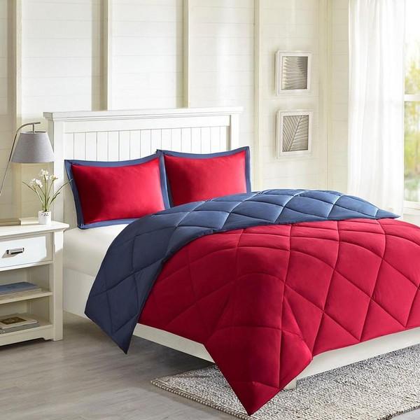 3M Scotchgard Diamond Quilting Comforter Set -Twin/Twin Xl MPE10-611 By Olliix