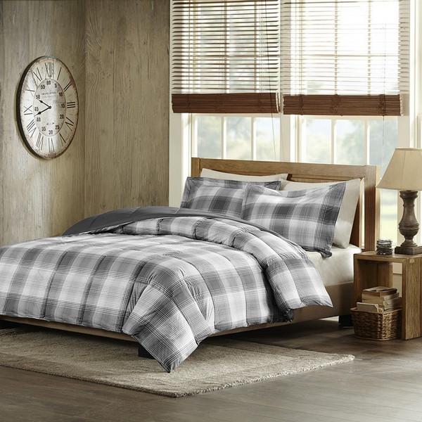 Woolrich Softspun Down Alternative Comforter Mini Set -Twin WR10-1511 By Olliix