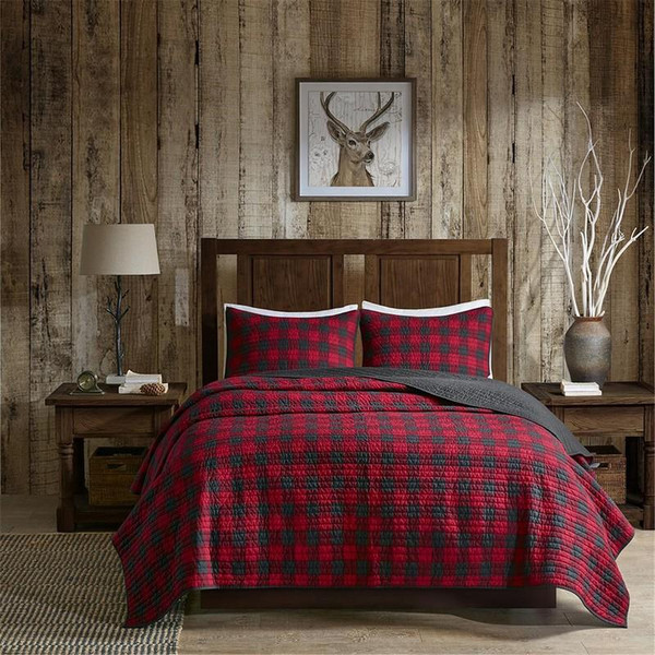 Woolrich Oversized Quilt Mini Set -King/Cal King WR14-1784 By Olliix