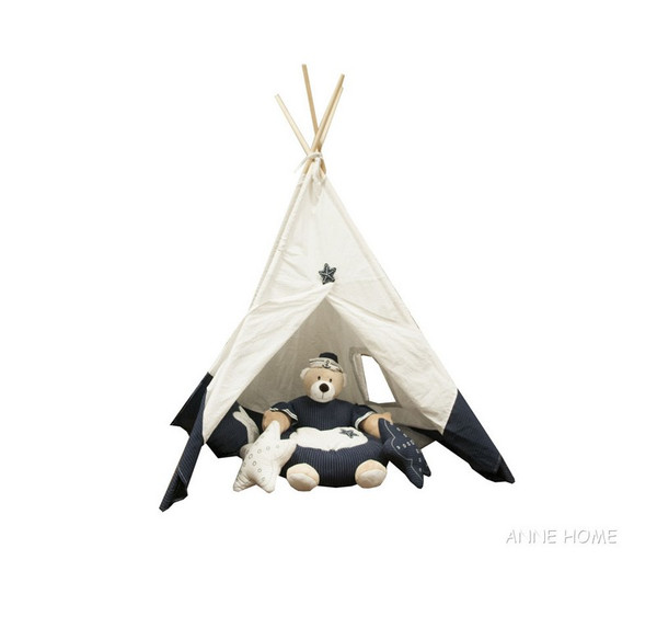 AB001 Fabric Tent By Old Modern Handicrafts