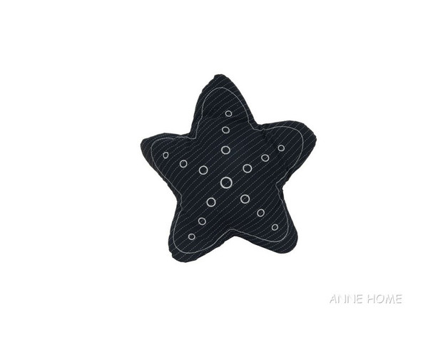 AB004 Star Pillow - Blue By Old Modern Handicrafts