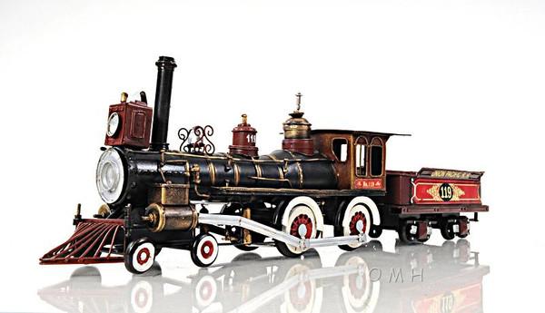 AJ010 Decorative Model of Union Pacific 1:24 Locomotive