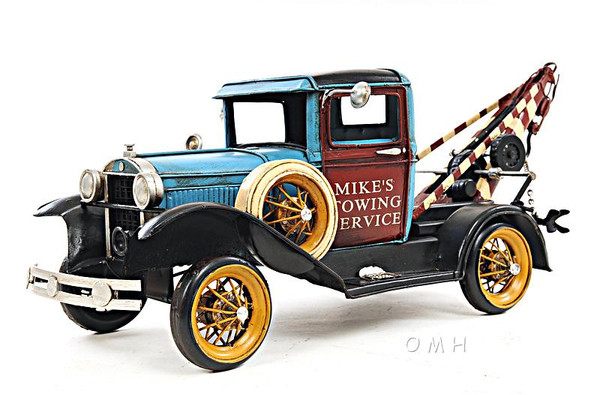 AJ028 Decoration 1931 Ford Model A Tow Truck 1:12