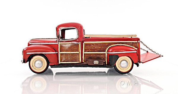 AJ029 Decoration 1942 Fords Pickup Truck 1:12