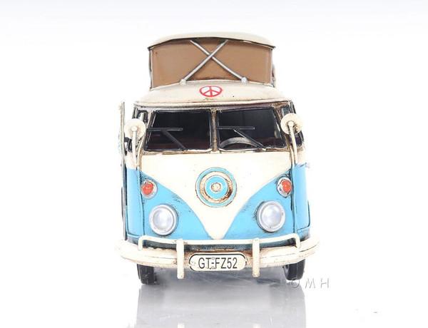 AJ036 Decoration Volkswagen Camp Bus by Old Modern Handicrafts