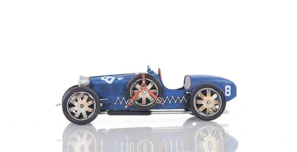 AJ038 Decoration Bugatti Type 35 Car by Old Modern Handicrafts