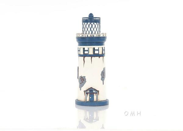 AJ041 Vintage Lighthouse by Old Modern Handicrafts