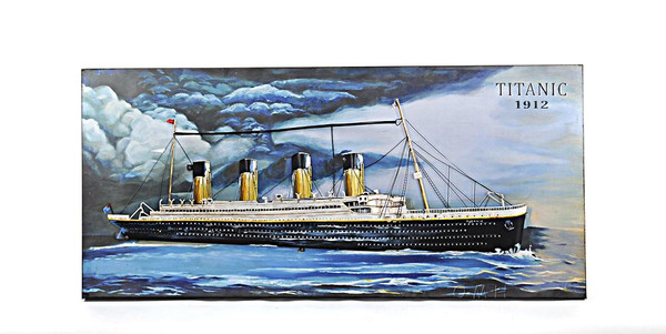 AJ046 Titanic 3D Painting by Old Modern Handicrafts