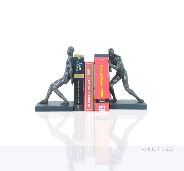 AT015 Gymnastic Man Bookend - Set Of 2