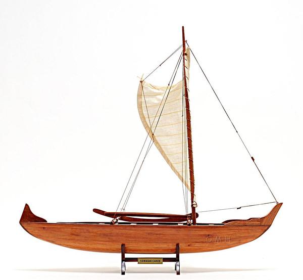 B012 Hawaiian Canoe Model by Old Modern Handicrafts