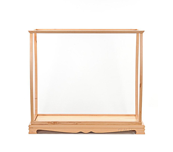 P033 Open Display Case for Medium Size Ship by Old Modern Handicrafts