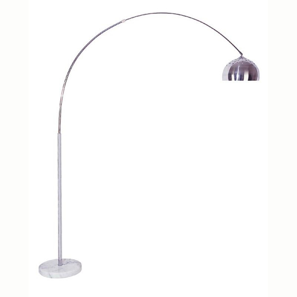 6935 Ore International 85 Inch Arch Floor Lamp - Marble Base