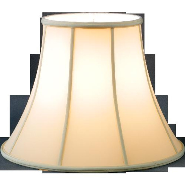 108-17-BE Beige Round Lamp Shade 9 X 17 X 13 by Oriental Danny