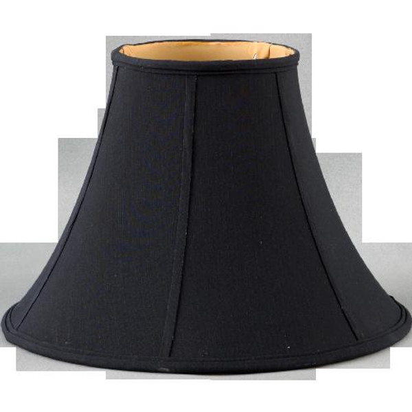 108-17-BK Black Round Lamp Shade 9 X 17 X 13 by Oriental Danny