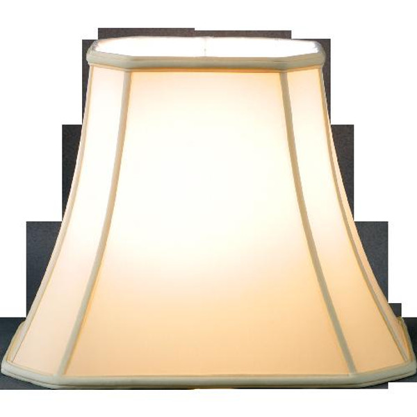 125-12-BE Beige Oblong Rectangle Lamp Shade by Oriental Danny
