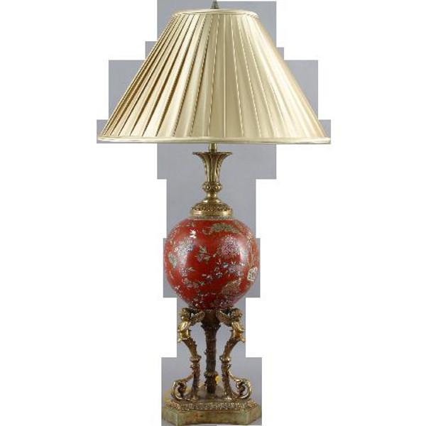 23117 Monkey King Cherub Lamp 22 X 22 X 38 by Oriental Danny