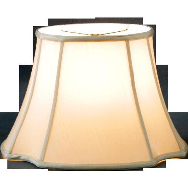 290-15-BE Beige Long Oval Lamp Shade 9.5 X 15 X 10.5 by Oriental Danny