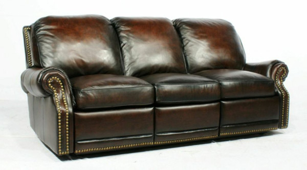 Barcalounger Premier Sofa - Recliner With Power - Stetson - Coffee 39-6600-5407-41