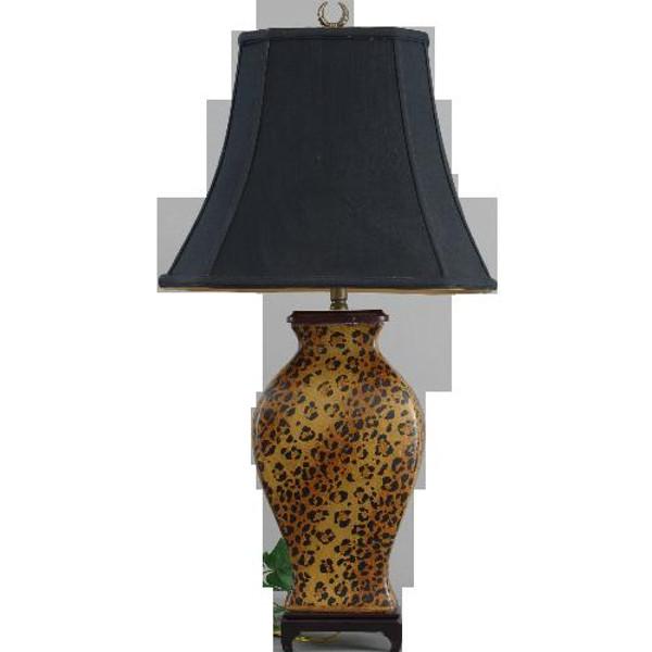 70239 Wild Skin Lamp 16 X 12 X 31 by Oriental Danny